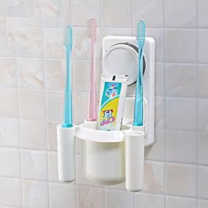 WONR- Powerful Sucker Toothbrush / Toothpaste Holder