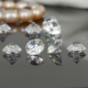 Round brilliant cut white color loose Cubic Zirconia stones price wholesale