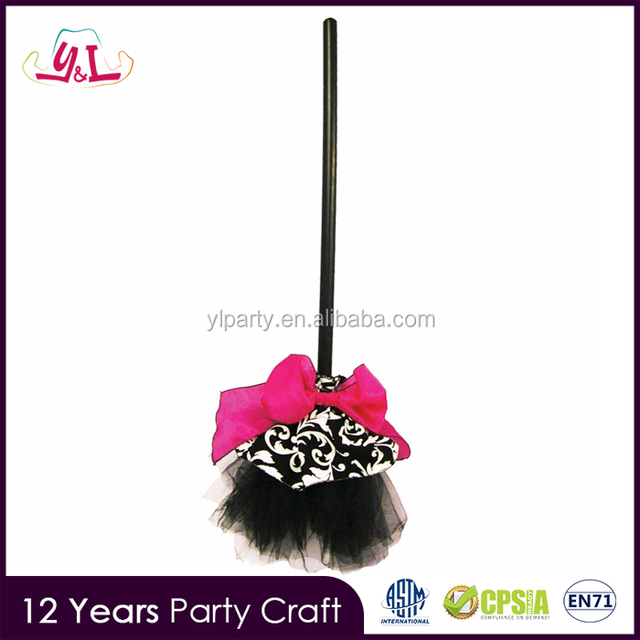 new premium 2017 party city halloween giveaways janie witch broom adult halloween accessory