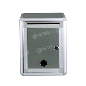 Postal Service Type Secure Italian Mailbox, Craft Metal Mailbox, Residential Mailbox with Cam Lock