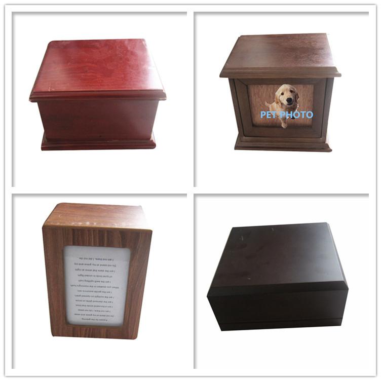 Производитель Китай питомцы; урна для кремации Деревянный собака гроб