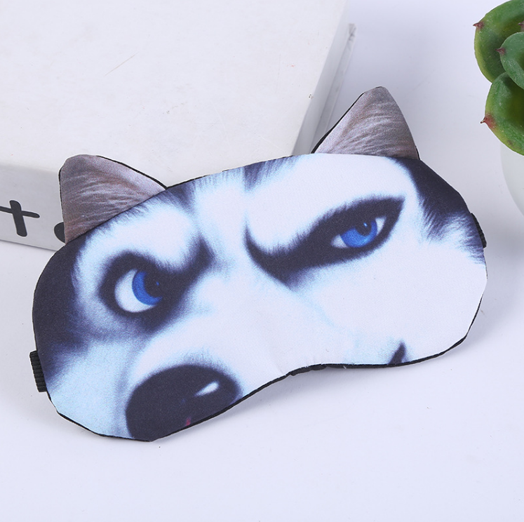 Wholesale Beauty Personal Care Travel Soft Home Target For Dry Eyes Dog Animal Cute Pattern Alarm Clock Amazon Sleep Eye Mask
