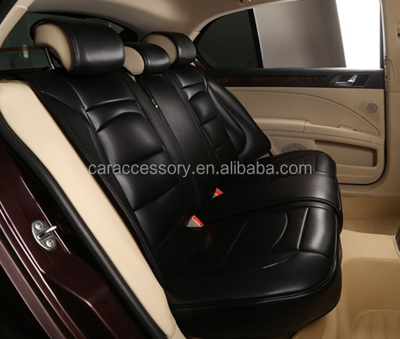 High Quality Pu Leather Universal Size 3d Car Seat Cover