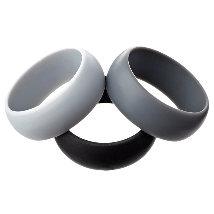New Mens Custom Silicone Wedding Rubber Finger <strong>Ring</strong> For Men Sports