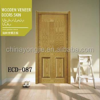 zhejiang new design oak wood veneer moulded door skin & zhejiang new design oak wood veneer moulded door skin View moulded ...
