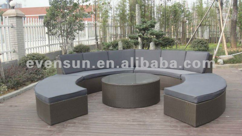 Semi Circular Sofa Outdoor