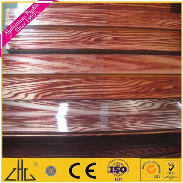 האופנה האופנתית 6063 אלומיניום בצבע עץ, צבע עץ פרופיל אלומיניום-פרופילי אלומיניום FM-36