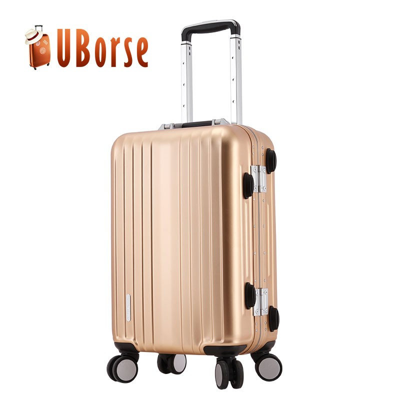 20 Quot 24 Quot Modern Luxury Aluminum Suitcase Luggage Business Travel Trolley Luggage Buy Aluminum