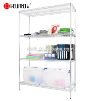 High quality office chrome wire rack metal shelf and shelving