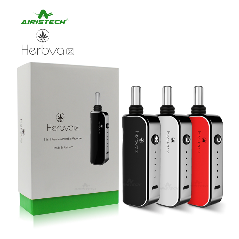 Hot selling 3in1 vaporizer Airistech Herbva X new for Amazon wholesaler 2018
