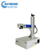 Table model industrial fiber laser logo maker machine