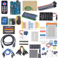 2015 New Advanced Started Kit DIY Kit for Arduino Sensor Module Board