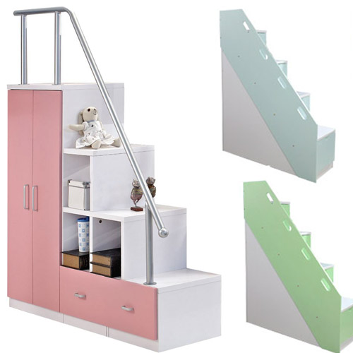 Get Quotations Children S Furniture Combination Ladder Escalators Cabinet Bed Picture Stairs Drawer