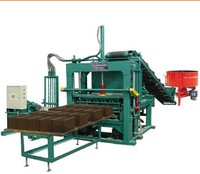 QT5-20 Hydraulic Block Forming Machine Pament Brick Wall Brick