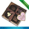 Elegant printed homemade chocolate box/paper gift packaging with lid