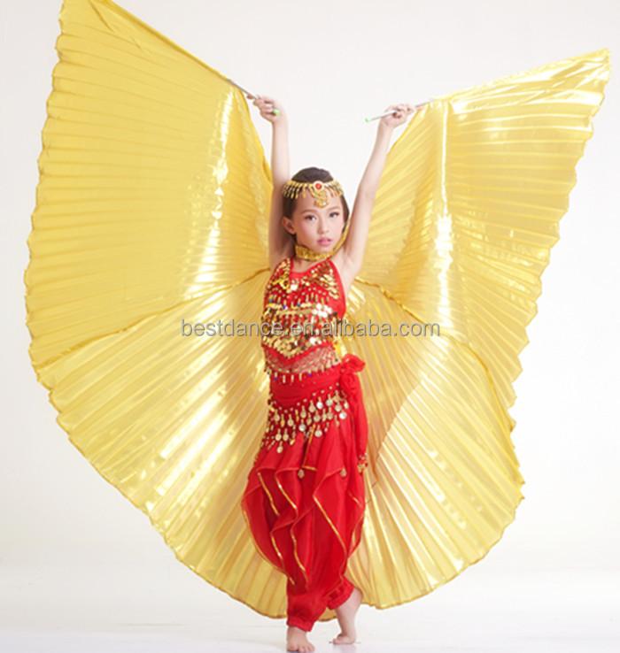 Kids Handmade Wings  Belly Dance Costume Children/'s Angel Isis Wings no stick
