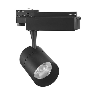 ETL Approved 0-10V Dali Triac Dimmable Track Lighting System 90Ra 95Ra 35W COB LED Track Light