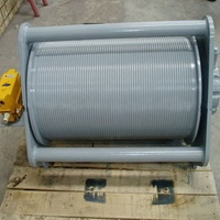 Sym wire rope drum for crane tower