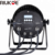 Outdoor LED stage par 64 can dmx 12x18w RGBAWUV 6in1 IP65 LED flat Par Light
