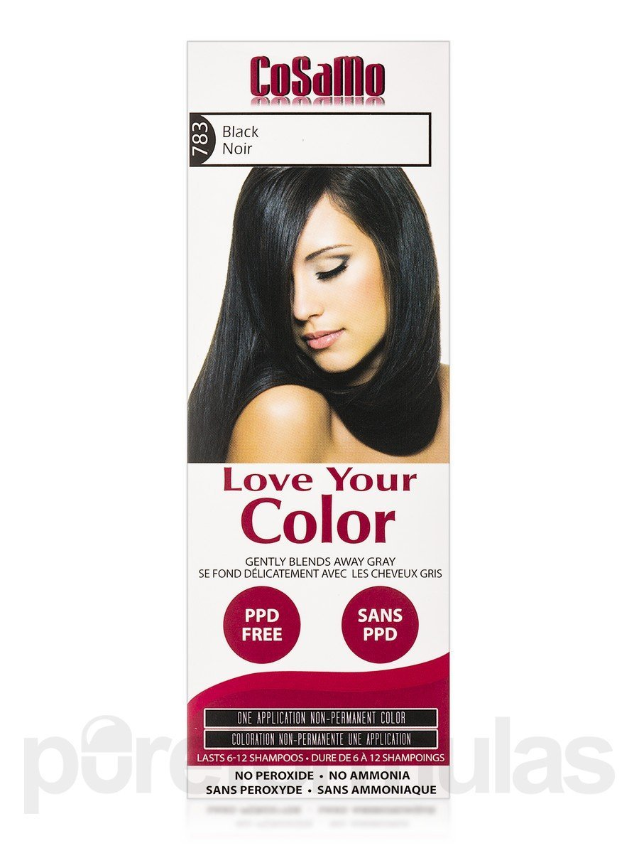 Buy Cosamo Love Your Color Non Permanent Hair Color 783 Black 3