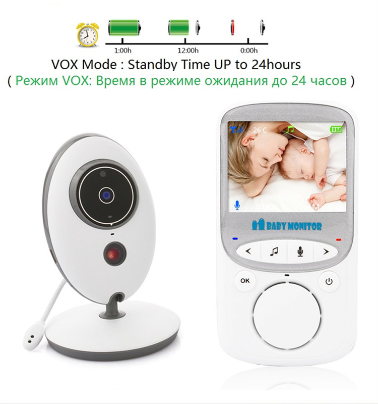 2018 Baby Monitor Wholesale VB605 Digital Audio Wifi Wireless Video Baby Monitor in Shenzhen New Product
