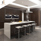 Brand new modular stainless steel laminated plywood furniture wall mount kitchen cabinet