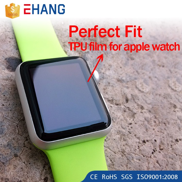 2016 cell phones accessories matte tempered glass screen protector for apple watch