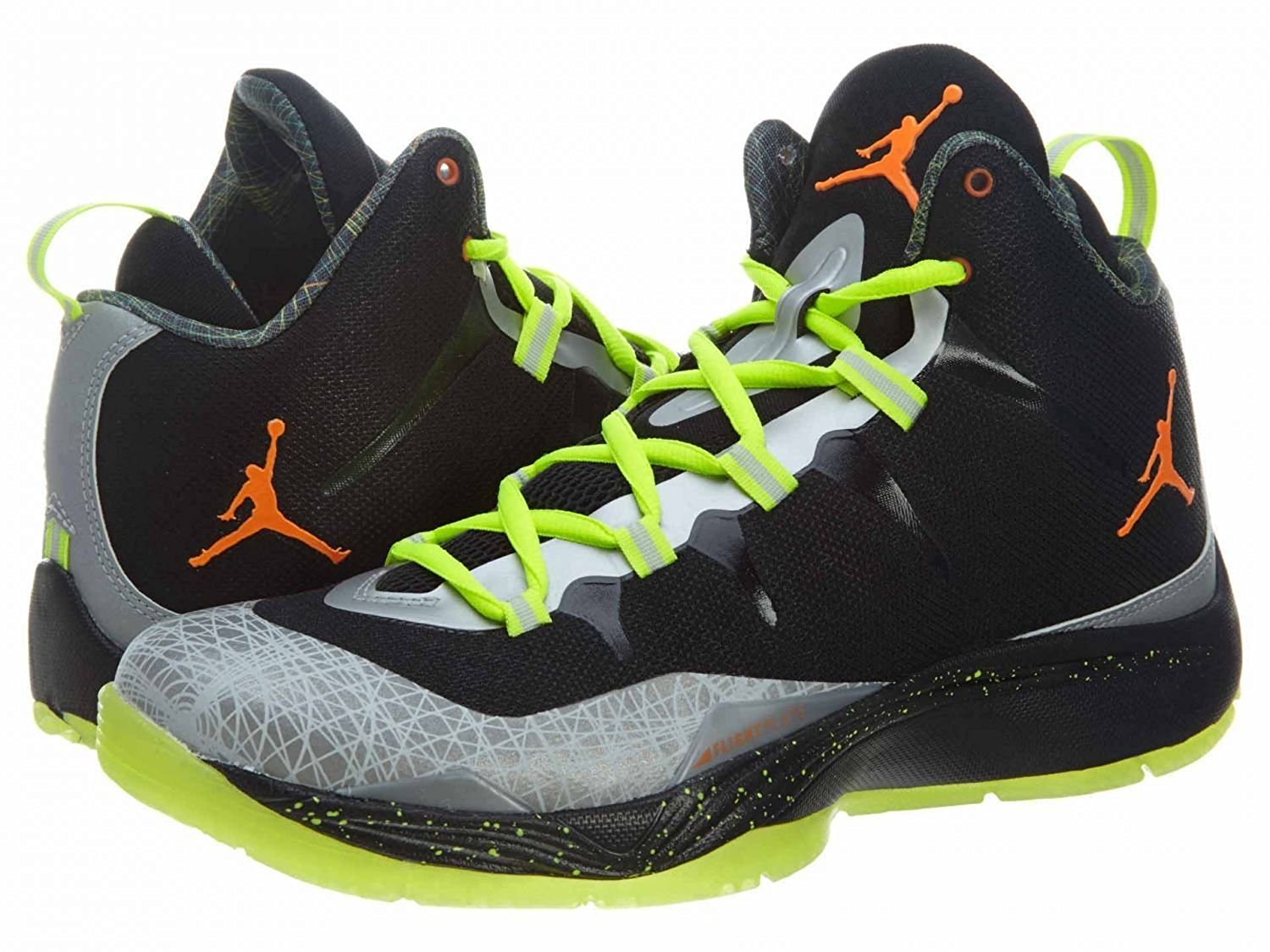 best service 57ce3 85237 Get Quotations · Men s Nike Jordan Super.Fly 2 Christmas Basketball Shoes  Size 12.5 BLACK TOTAL ORANGE