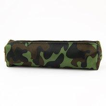 Камуфляжный чехол-карандаш для мальчиков и девочек, школьные принадлежности, чехол на молнии, 4 цвета, сумка-карандаш(Китай)