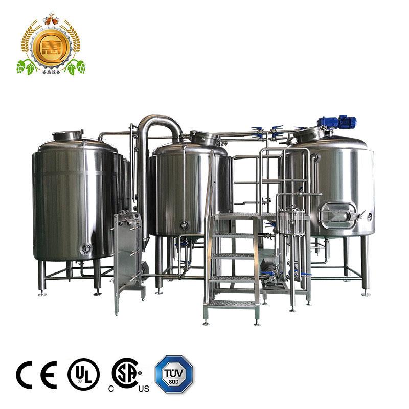 สแตนเลส/สีแดงทองแดง 500L เบียร์ fermentetion ถัง unitank สำหรับขาย