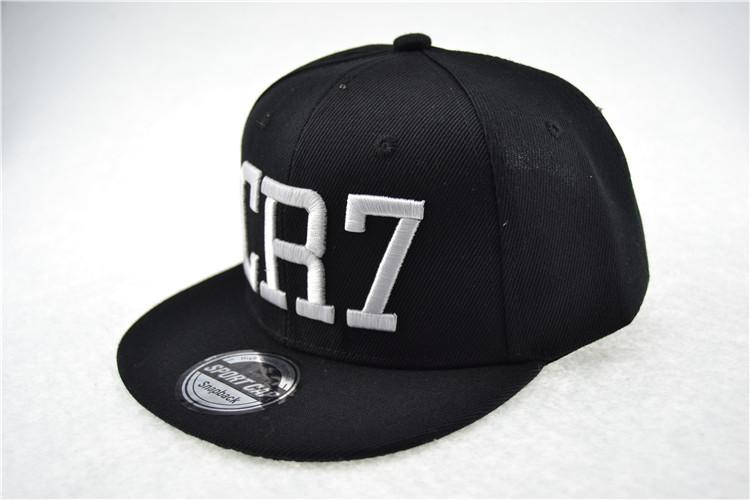 b6b342f4e Wholesale- Cristiano Ronaldo CR7 Baseball Caps Cotton Cr7 Caps Snapback Hip  Hop Fashion Hat Men Baloncesto Caps Bone Snapback Aba Reta Snap