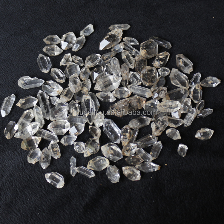 CHEAP PRICE double terminated rough natural Sparkly herkimer diamond for sale