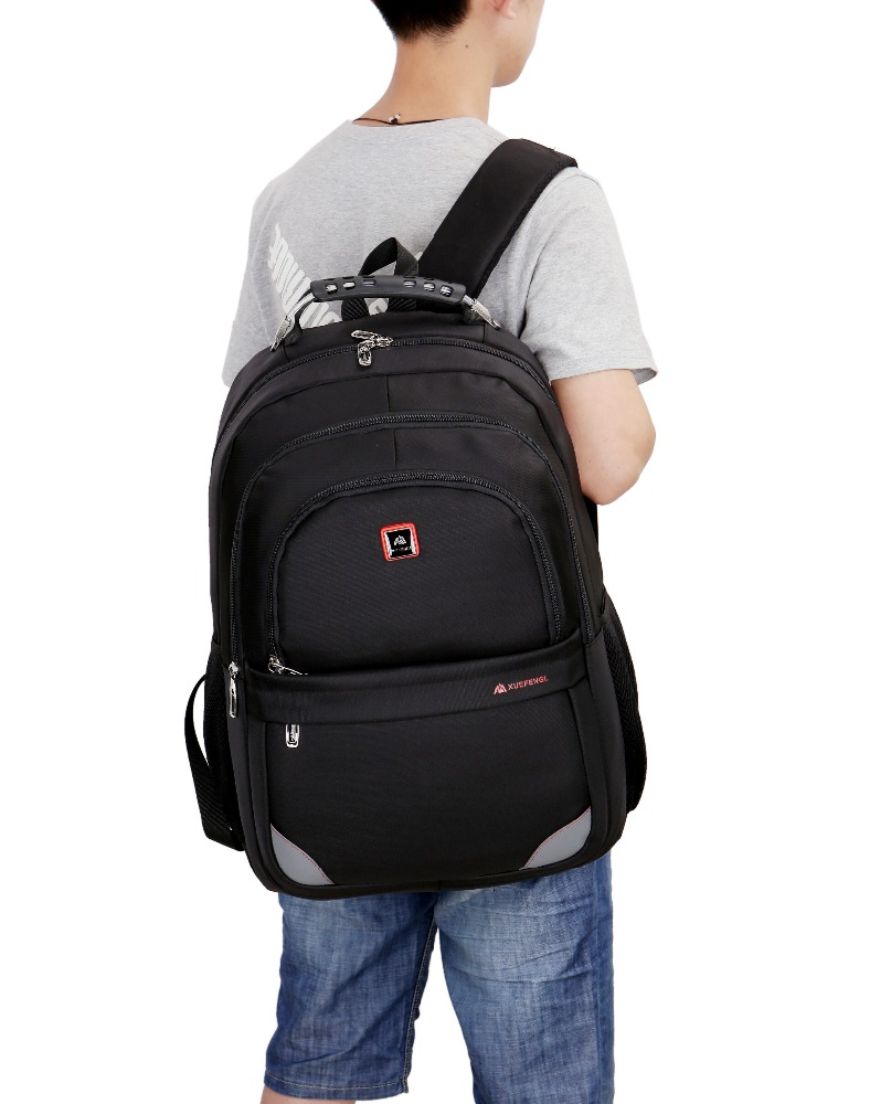 Durable large one compartment backpack college backbags