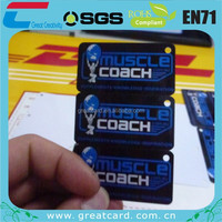 PVC Barcode Card 3 in One