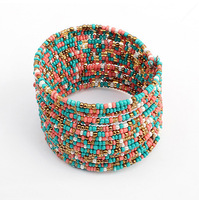 Yiwu factories jewelry beads multilayer fashion bracelets