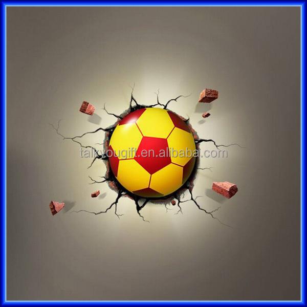 Christmas Gifts Cartoon Football Soccer Ball Children Gift Led ...
