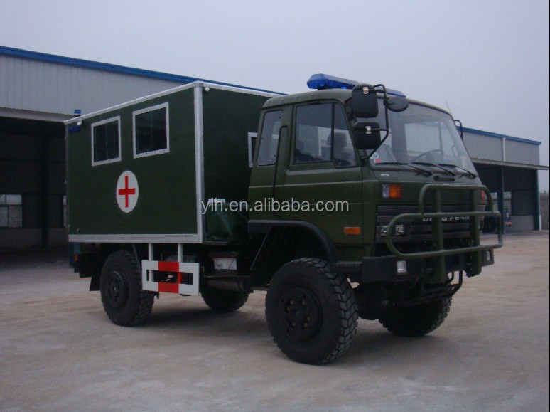 Dongfeng Ylh5020jh 4x4 Rhd Or Lhd Diesel Icu Transit Medical Clinic  Military Ambulance Truck - Buy Ambulance Truck,4x4 Military  Ambulance,Ambulance