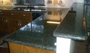Natural Ubatuba Green Granite Countertop