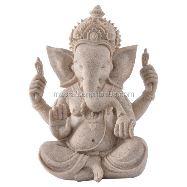 Indian resin ganesha statue for home decoration handicrafts 14375
