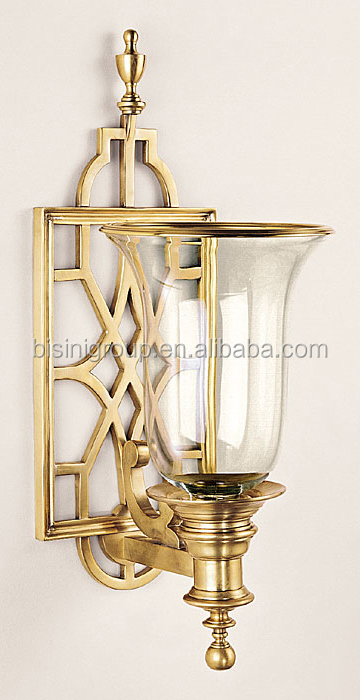 Victoria 2 Lamp Antique Brass Wall Light For Bedroom,Vintage Brass ...