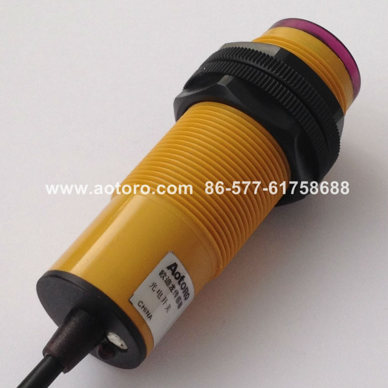 reflective beam sensor M30 E3F-10C1 photoelectric sensor made in china