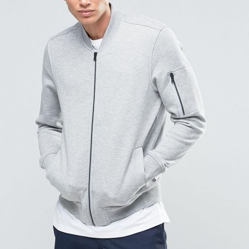 Men Jackets Winter Fleece Jackets Men Fashion Grey Jackets Wholesale