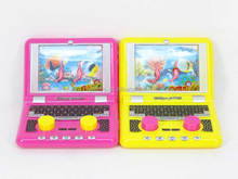 Kids Toys Plastic Notebook Computer Water Game(2 Colors), Latop Water Machine for children, Games Toys for sale, DE003517