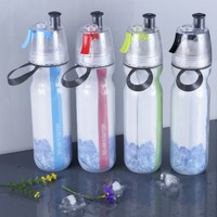 manufacturing food grade plastic sport drinking mist spray water bottle