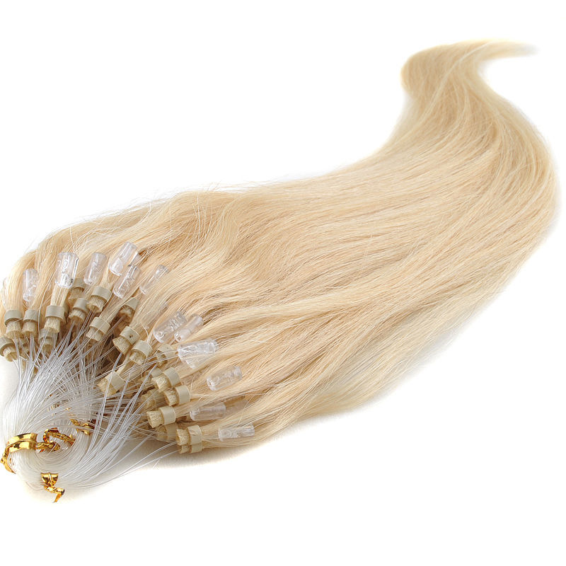Buy Top Quality Hair Extensions Micro Ring Natural Straight 10 Gram