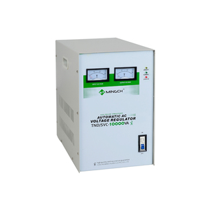 MINGCH Fully Automatic 220V Single Phase 10 Kva Electric Current Voltage Stabilizer