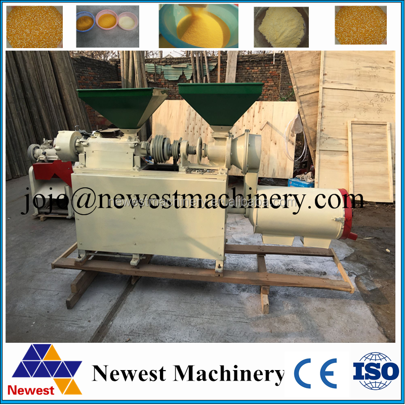Machine for making corn flour used wheat flour milling equipment/corn peeling machine
