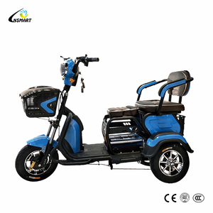 2018 wholesale electric 2 double seat 3 wheel mobility scooter for disabled