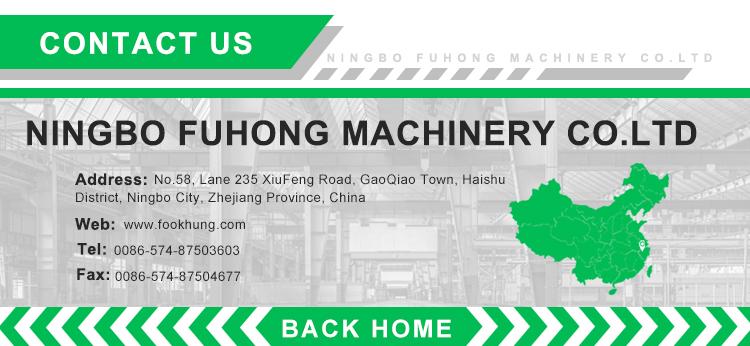 Ningbo Fuhong TUV certificering energiebesparing 500ton groente fruit plastic krat spuitgieten moulding maken machine
