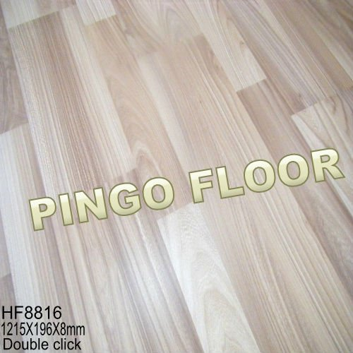 Small Embossed HDF AC4or AC3 wooden laminate flooring 8mm